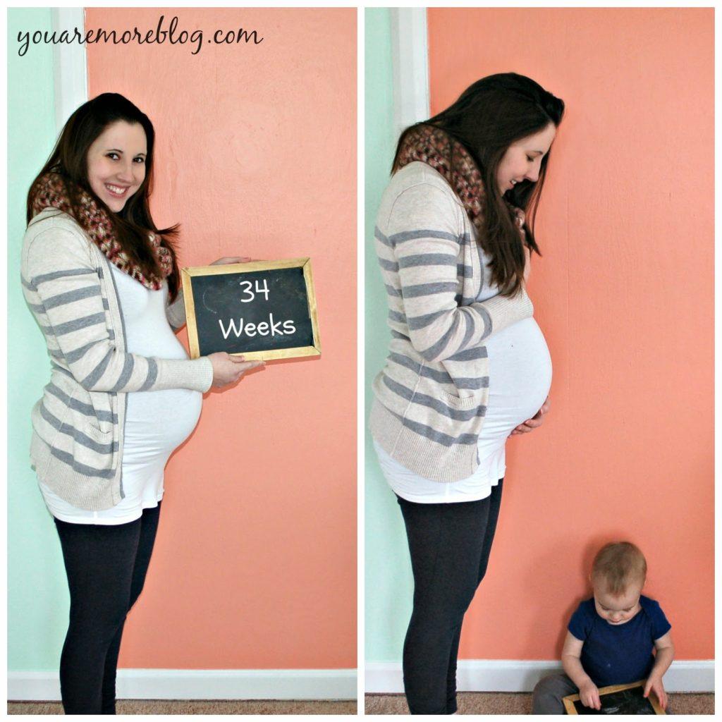 34 Week Bumpdate