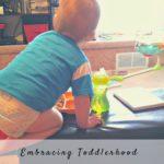 Embracing Toddlerhood: Pick Your Battles