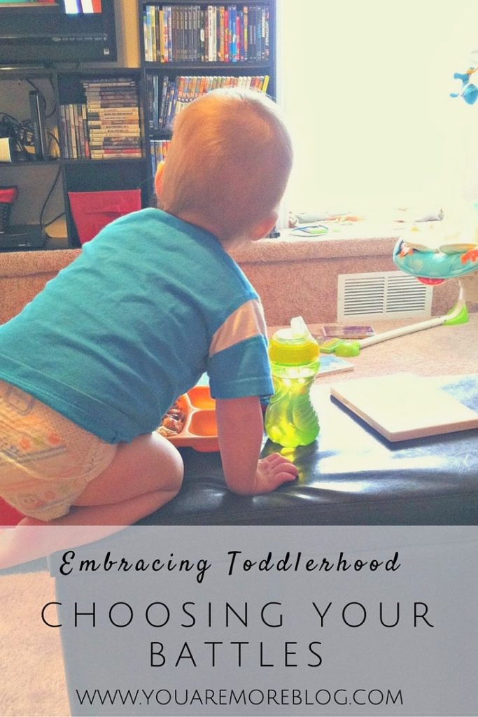 Embracing Toddlerhood: Pick Your Battles