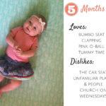 Elyse 5&6 Months