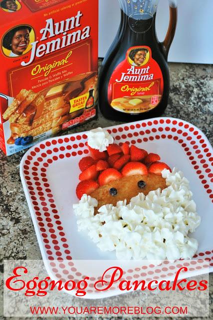 Making Christmas Traditions & an Eggnog Pancake Recipe