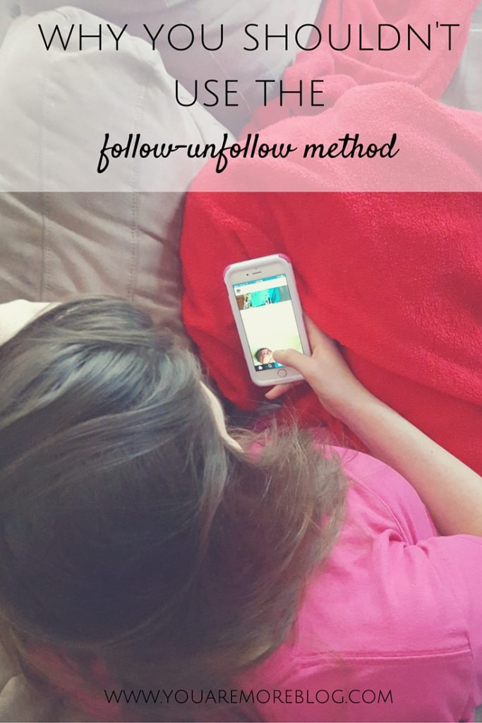 Why You Shouldn't Use the Follow-Unfollow Method