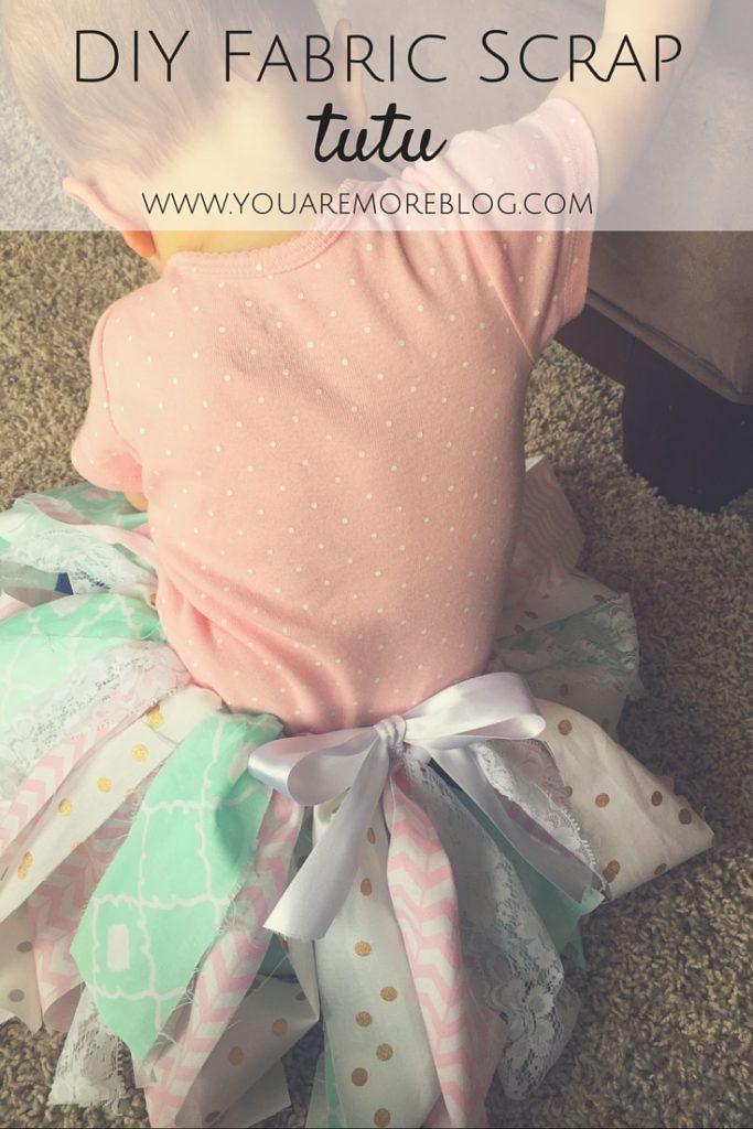 DIY Fabric Tie Tutu
