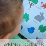 Toddler Adventures & a Printable Scavenger Hunt