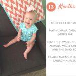 Elyse {13 Months}