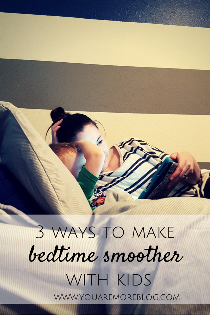 Tips for making bedtime with a toddler smoother.