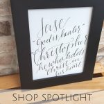 Shop Spotlight: PS Lettering Shop