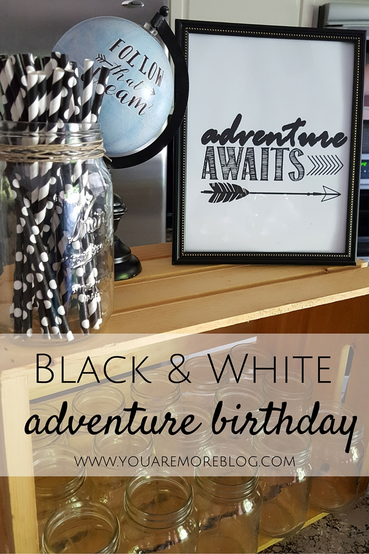 Adventure themed birthday party.
