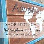 Shop Spotlight: Not So Mexican Canary