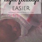 5 Ways to Make Night Feedings Easier