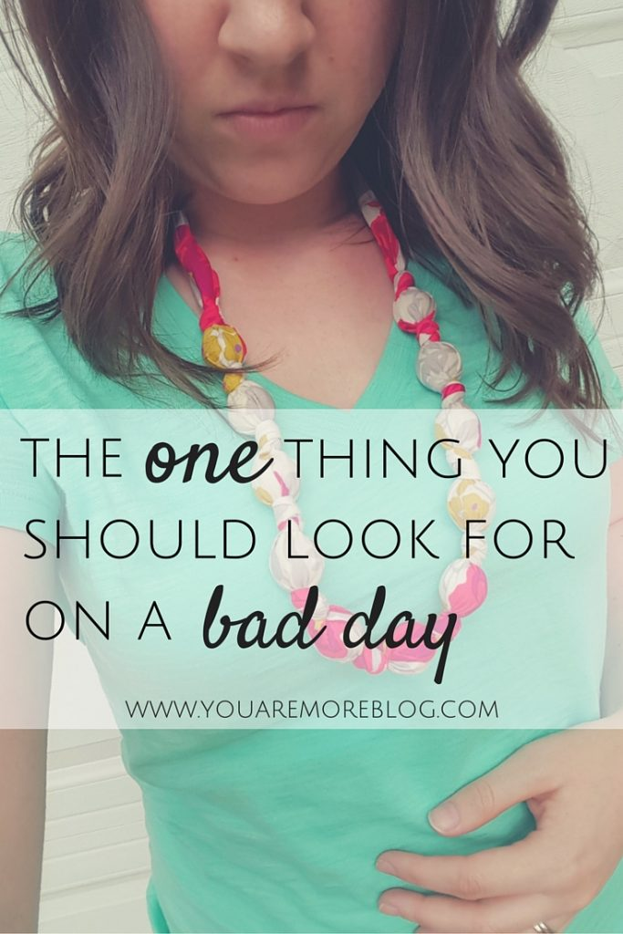 The One Thing You Should Look For In A Very Bad Day
