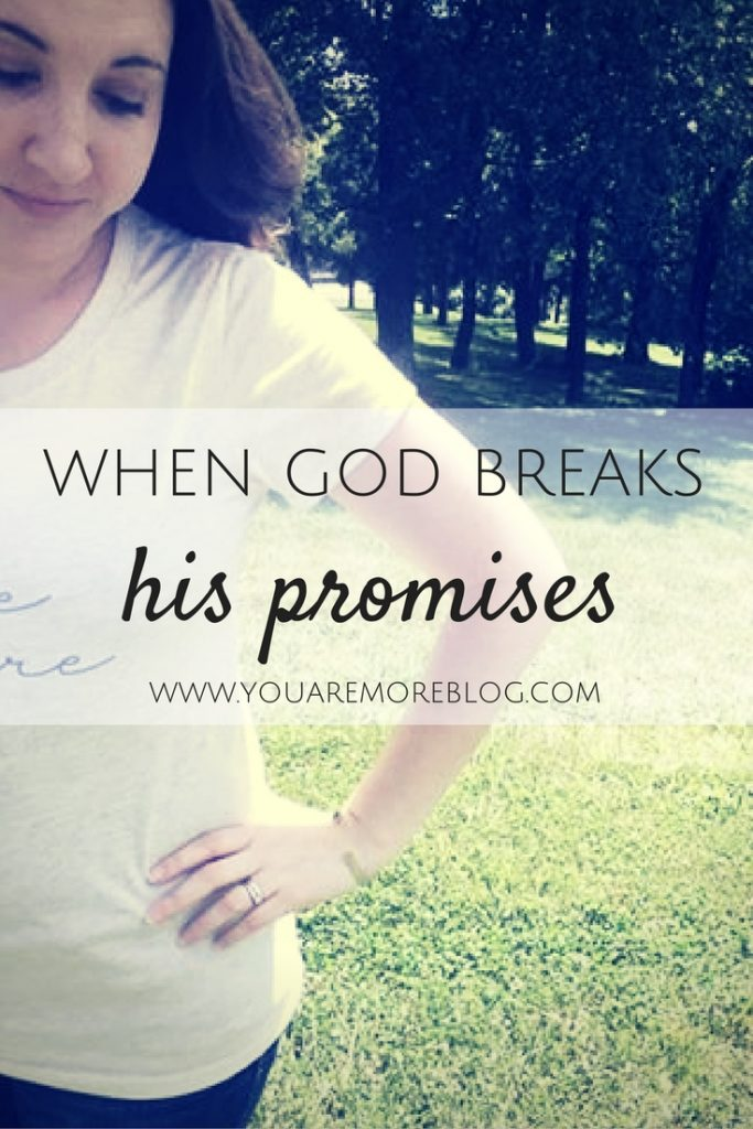 When God Breaks His Promises