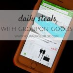 Daily Steals with Groupon Goods