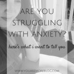 Are You Fighting Anxiety?
