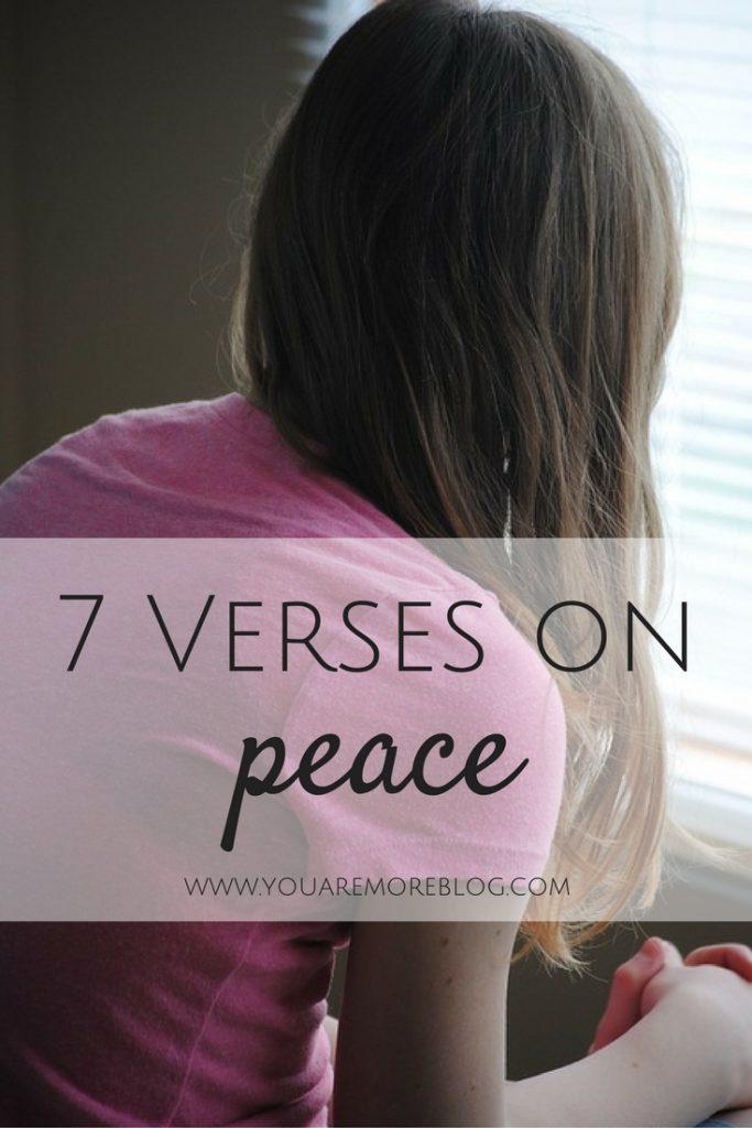 7 Verses on Peace