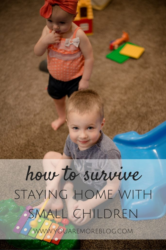 5 Tips to Survive Staying Home With Small Children