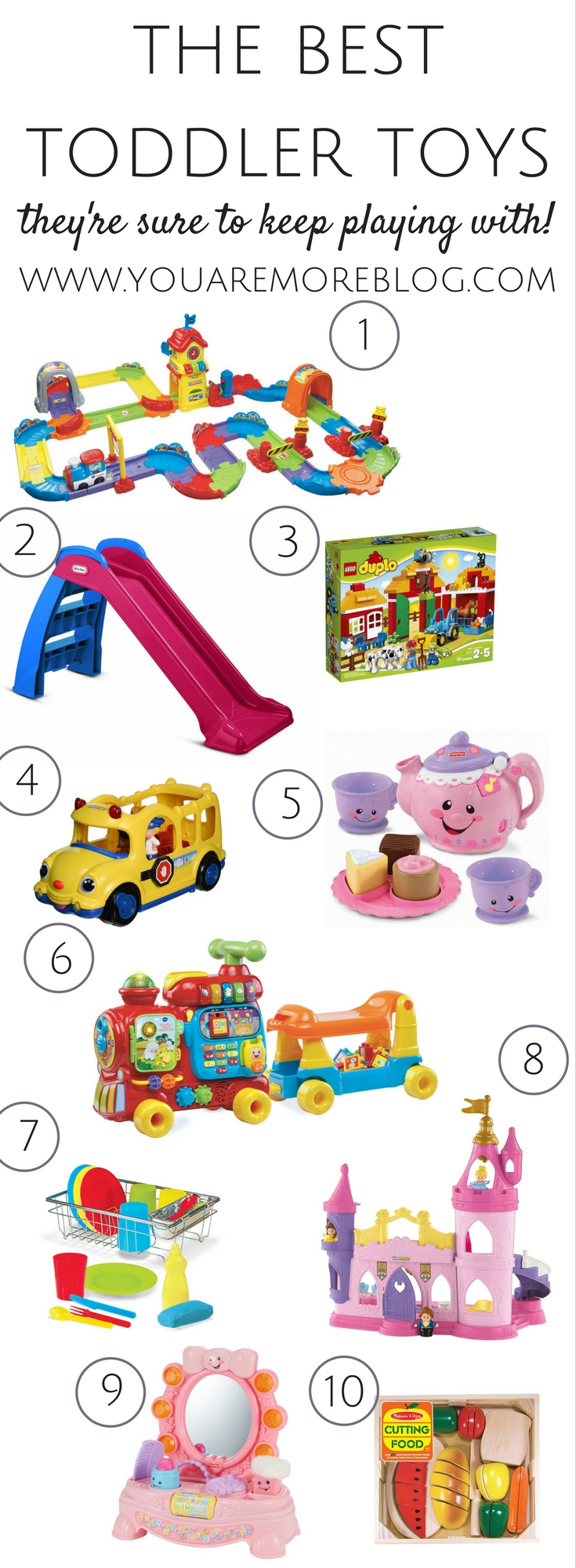 The best toddler toys they'll keep on playing with!
