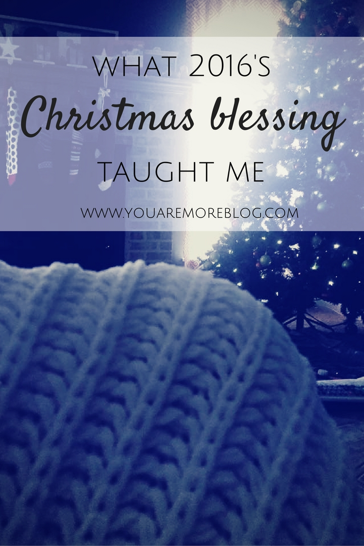 What being blessed this Christmas has taught me.