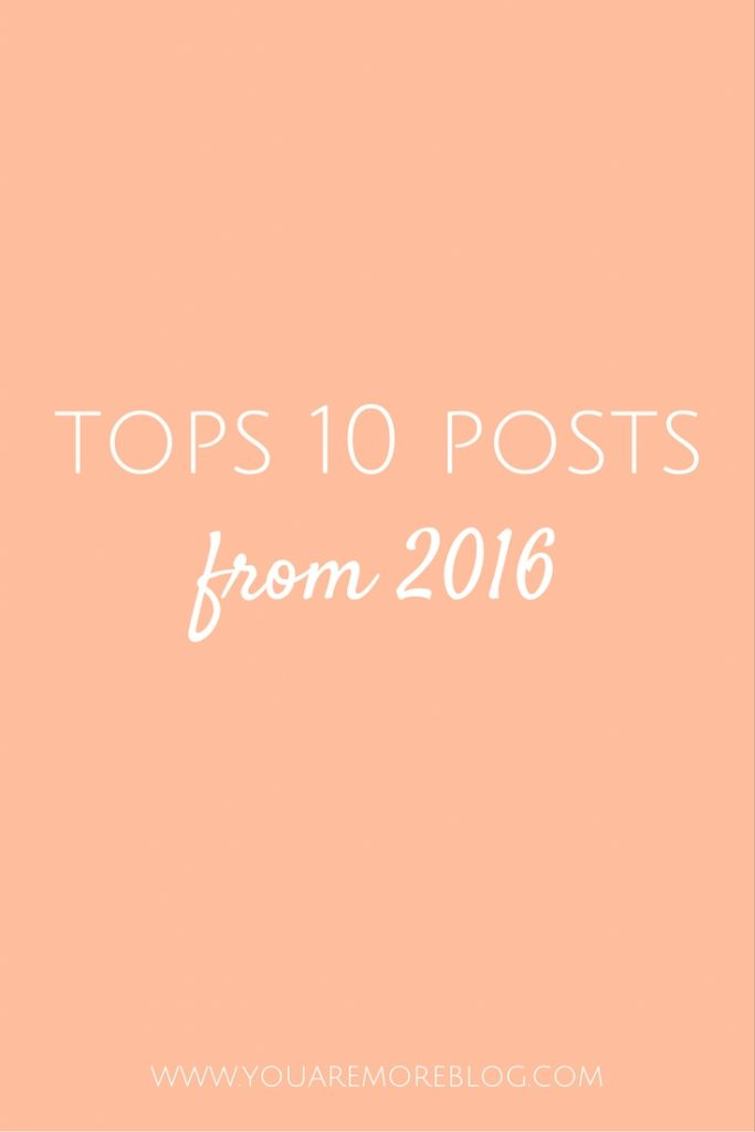 Top 10 Posts from 2016