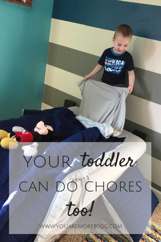Your Toddler Can Do Chores!