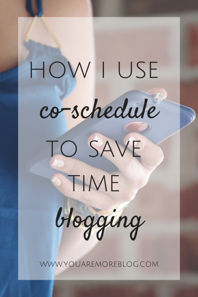 How I use Co-Schedule to Save Time on Blogging
