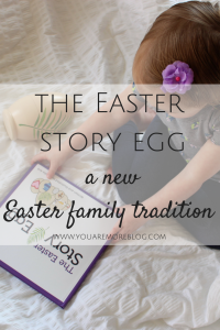 Celebrate Easter this season with the Easter Story Egg. It's a great way to focus on the true meaning of Easter.