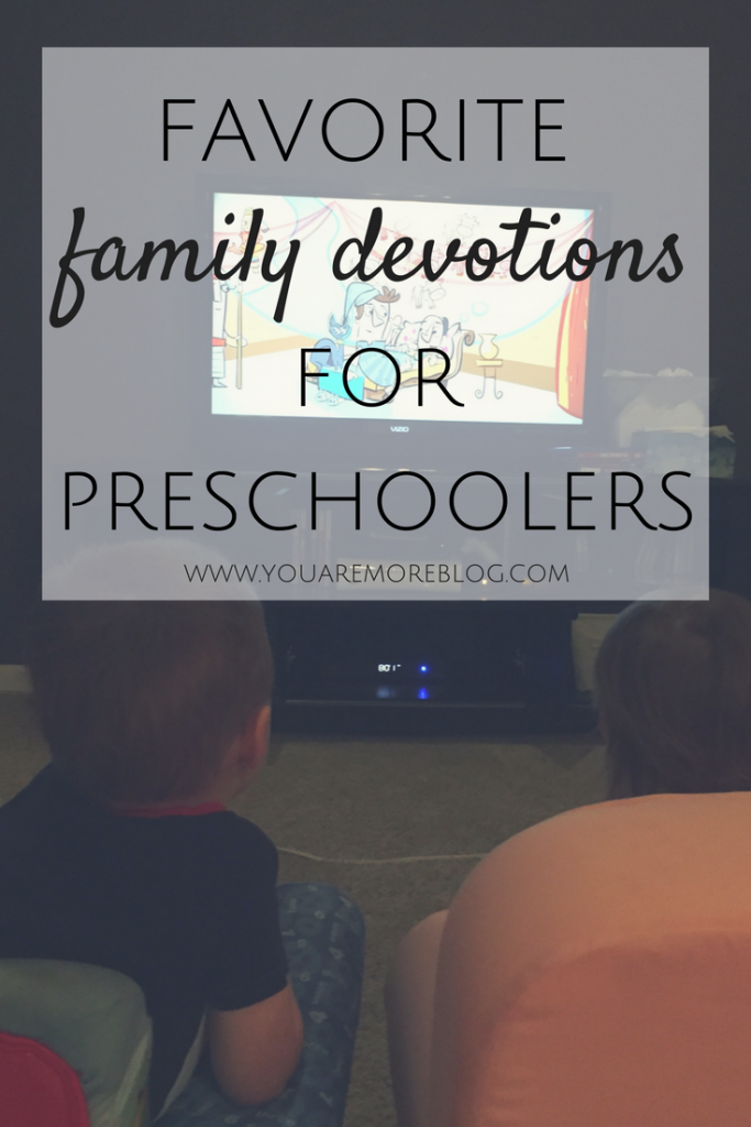 Favorite devotions to do as a family with your preschoolers.