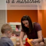 Motherhood is a Marathon