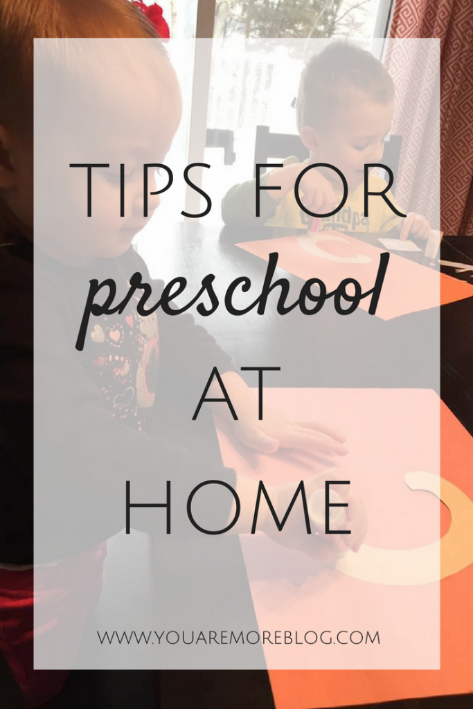 Tips for Preschool at Home