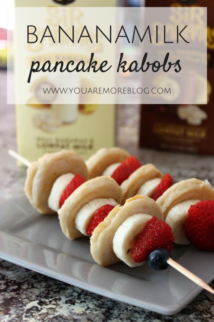 Bananamilk Pancake Kabobs {Recipe}