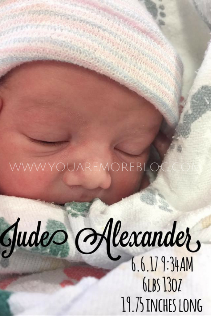 Jude's Birth Story