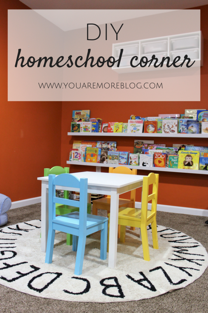DIY Homeschool Corner {Lorena Canals Rugs}