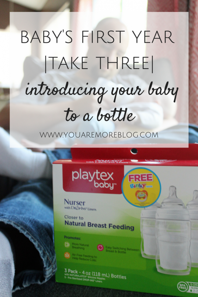 Baby's First Year {Take Three} Introducing Your Baby to a Bottle