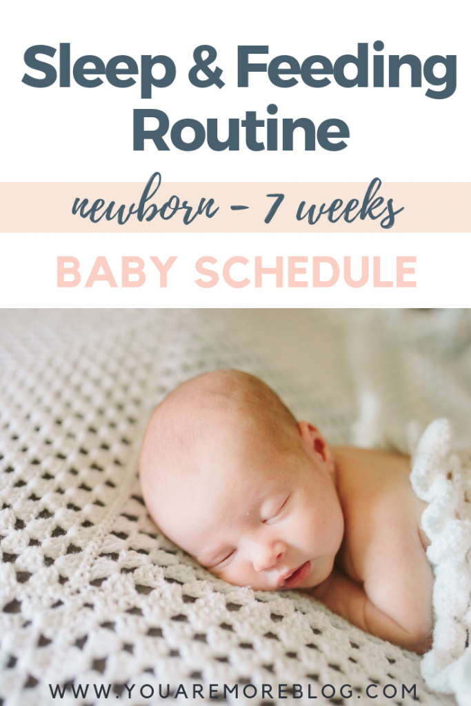 Newborn To Seven Week Old Baby Schedule How Many Times Should A Baby Be Eating