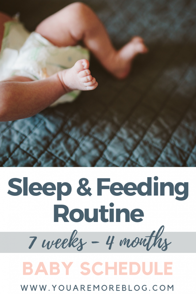 7 Weeks To 4 Months Baby Schedule You Are More Blog
