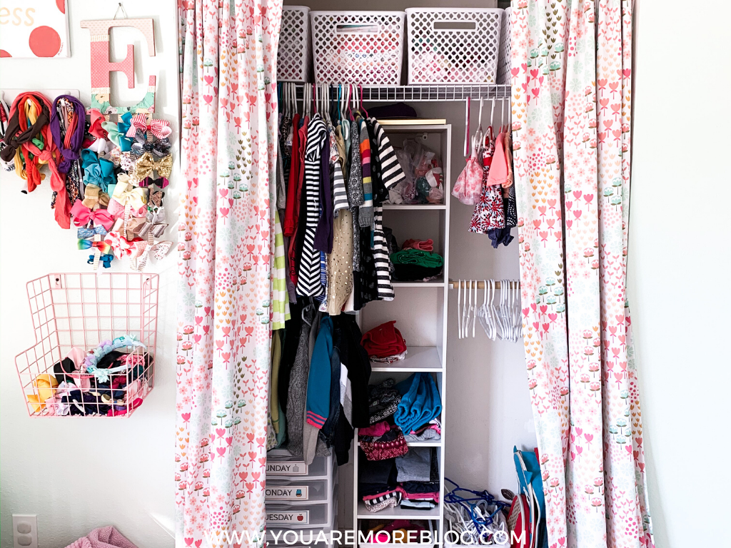 Shared Small Closet Organization For Girl S Room You Are More